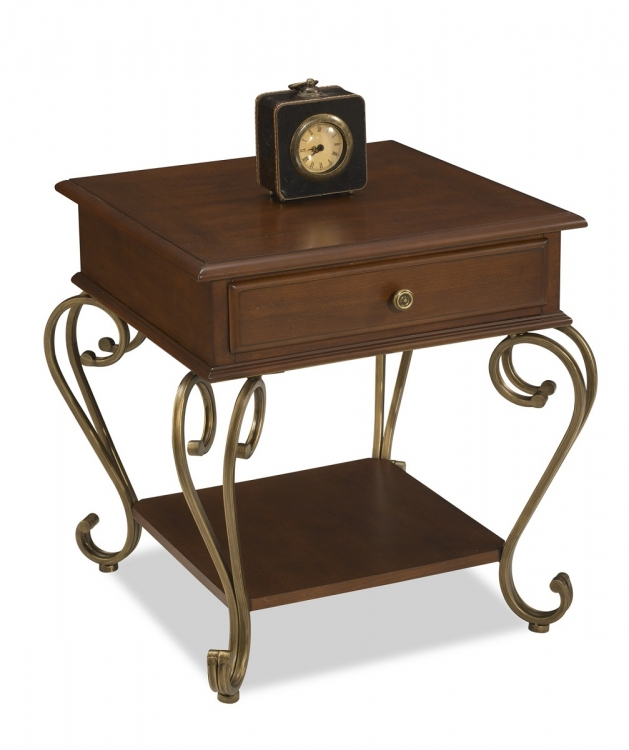 St. Ives End Table - Cinnamon Cherry - Home Styles