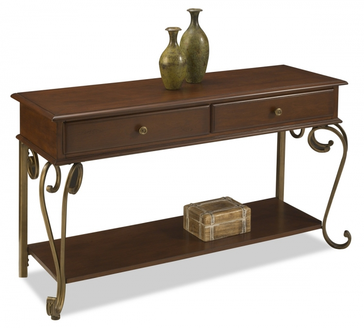 St. Ives Console Table - Cinnamon Cherry - Home Styles