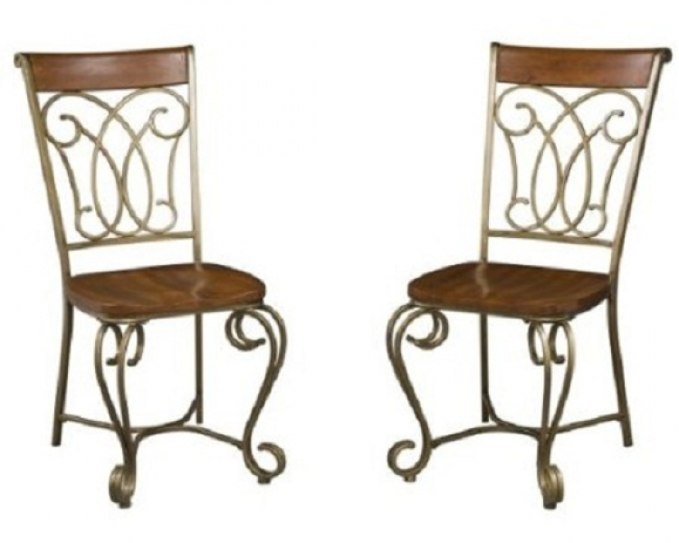 St. Ives Dining Chairs Pair - Cinnamon Cherry - Home Styles