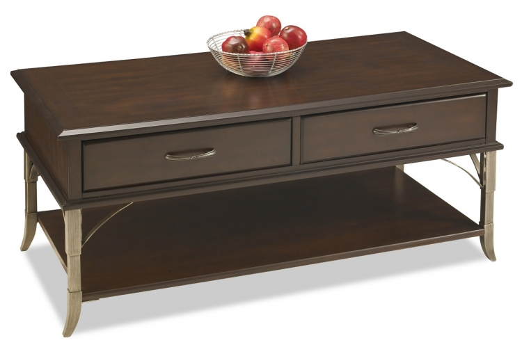 Bordeaux Cocktail Table - Espresso - Home Styles