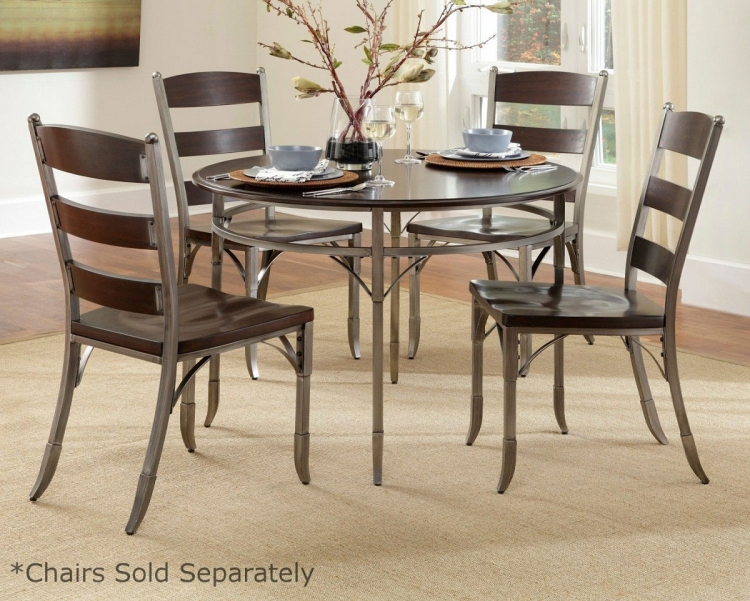 Bordeaux Dining Set - Espresso - Home Styles