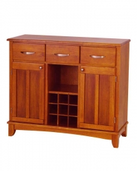 Cottage Oak Wood Top Buffet-Large - Home Styles