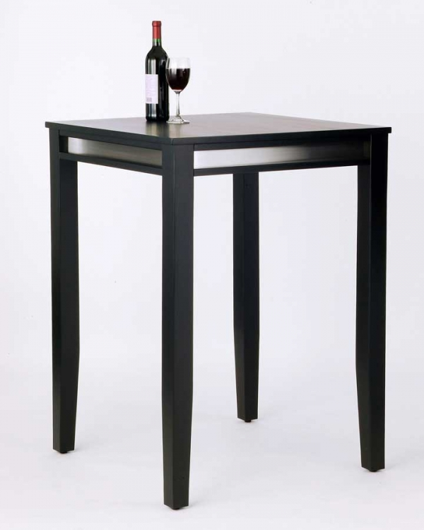 Manhattan Pub Table with Stainless Steel Apron - Home Styles