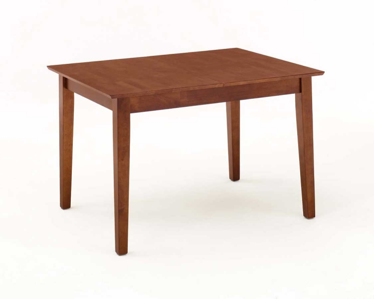 Rectangular Dining Table with Leaf - Medium Cherry