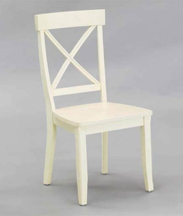 Dining Chairs Pair - White - Home Styles