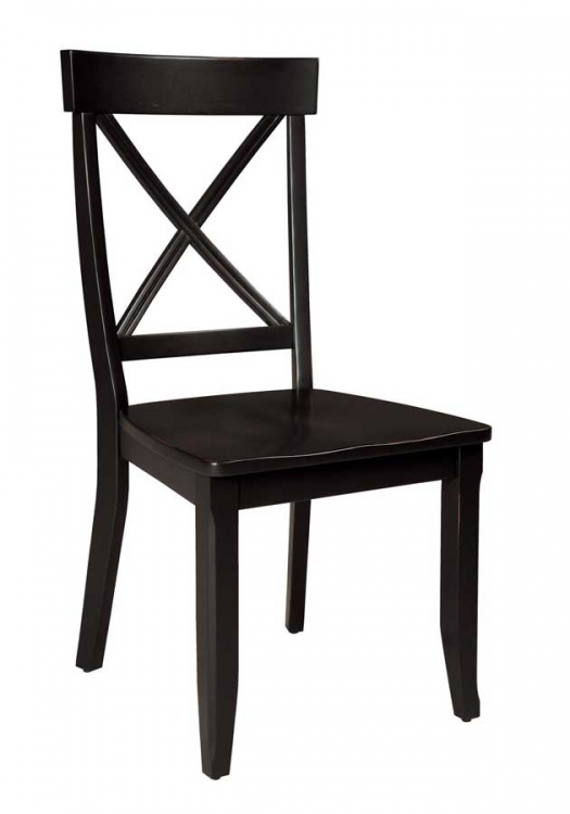 Dining Chair - Black - Home Styles