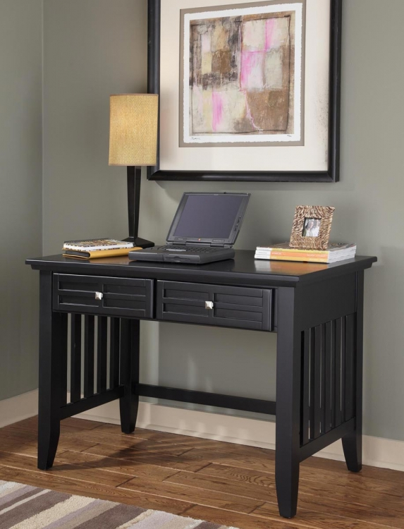 Arts and Crafts Student Desk - Black - Home Styles
