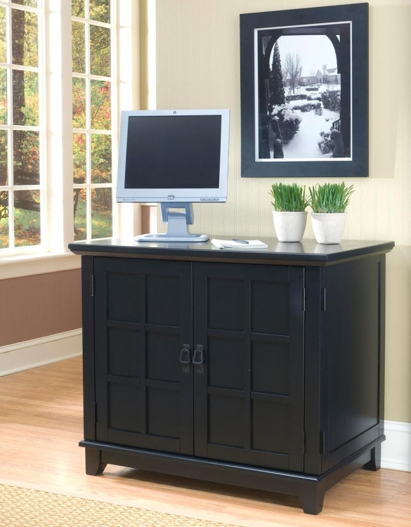 Arts and Crafts Compact Desk - Cottage Oak