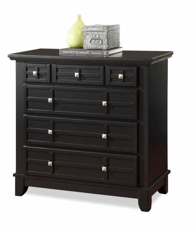 Arts and Crafts Chest - Black