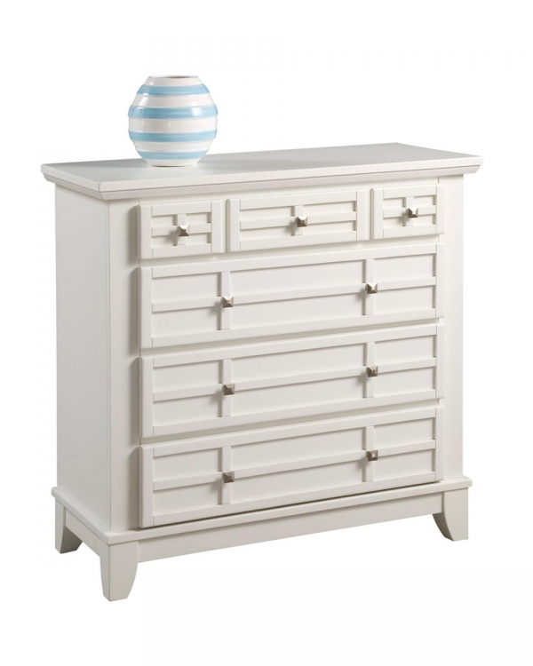 Arts and Crafts Chest - White