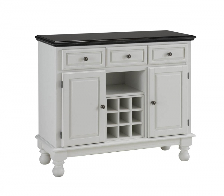 Premium Buffet with Granite Top - White - Home Styles