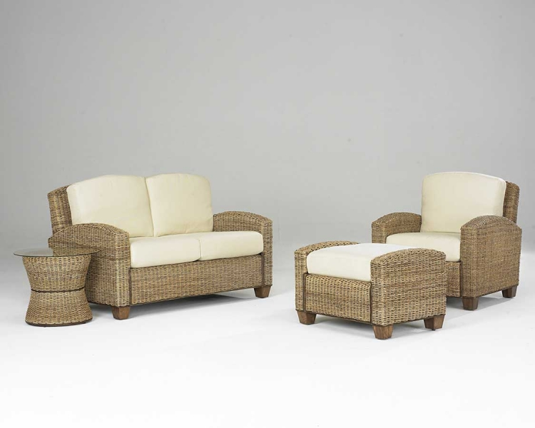 Cabana Banana Living Room Set in Honey - Home Styles