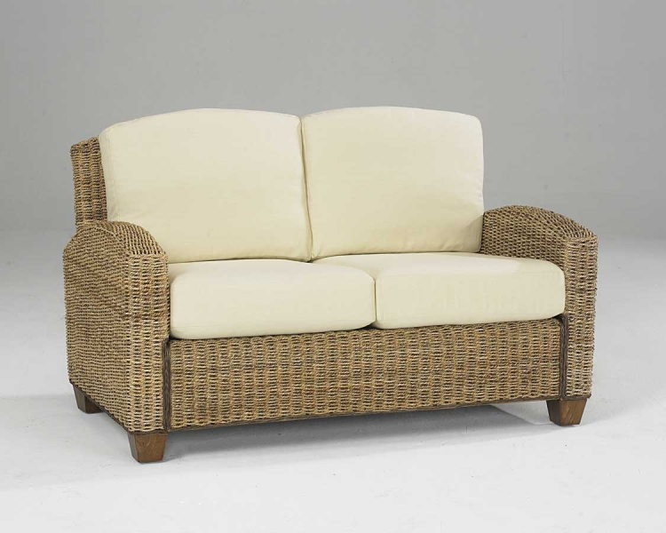 Cabana Banana Love Seat in Honey
