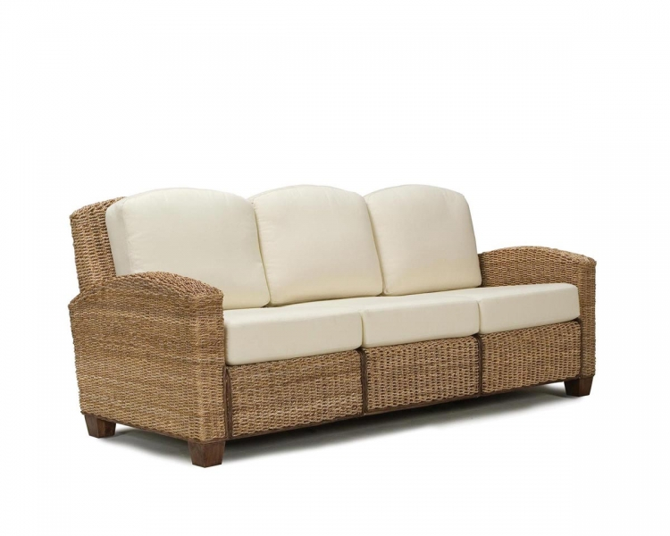 Cabana Banana Three Seat Sofa - Honey - Home Styles