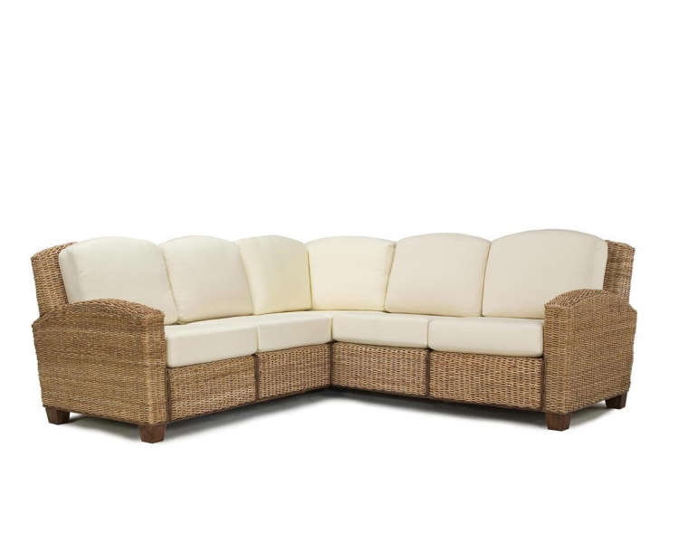 Cabana Banana L Shape Sofa - Honey - Home Styles