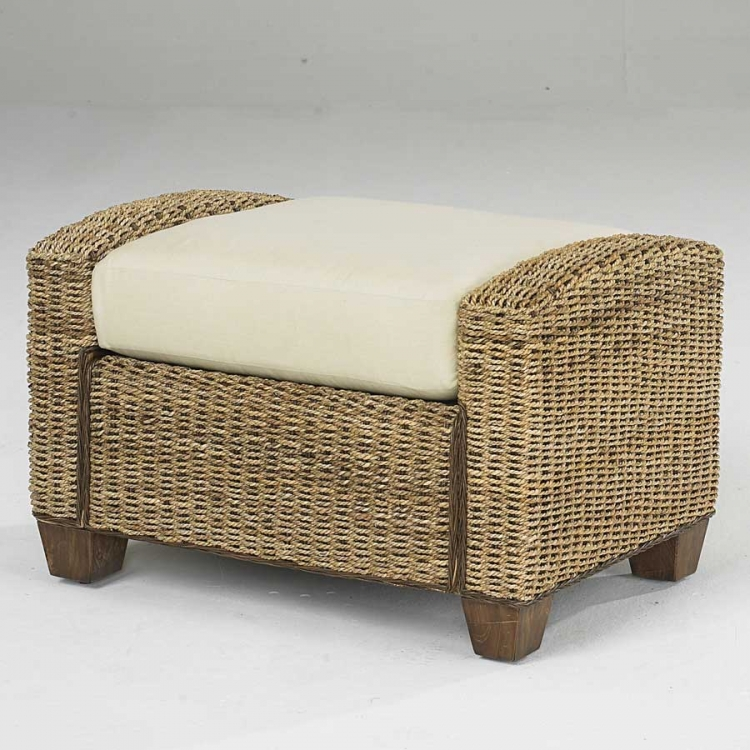 Cabana Banana Ottoman in Honey - Home Styles