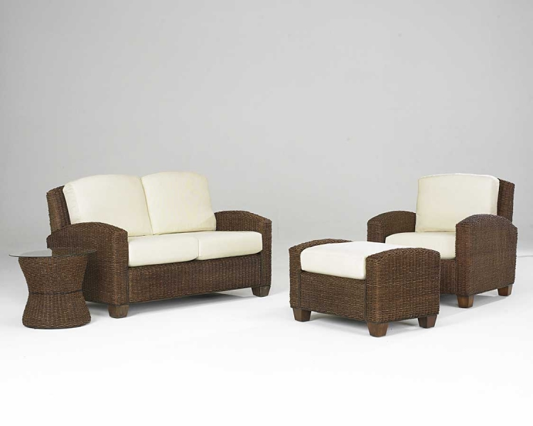 Cabana Banana Living Room Set in Cocoa - Home Styles