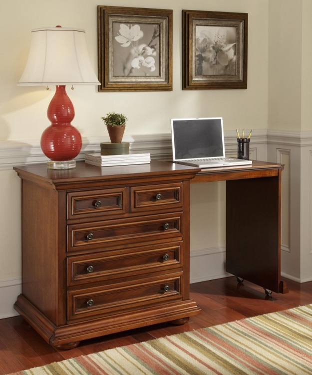 Homestead Expand-A-Desk - Distressed Nutmeg - Home Styles