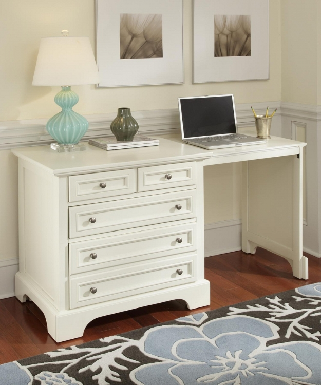 Naples Expand-A-Desk - White - Home Styles