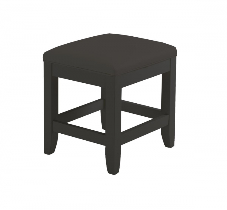 Bedford Vanity Bench - Black - Home Styles