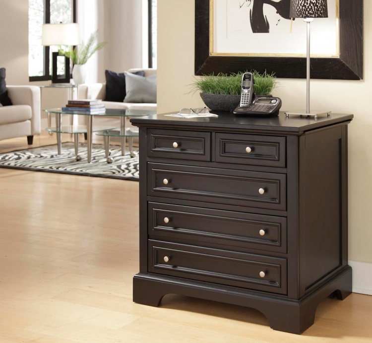 Bedford Expan-Desk - Black - Home Styles