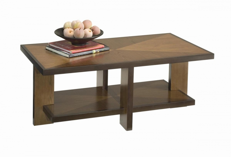 Geo Cocktail Table - Walnut - Home Styles