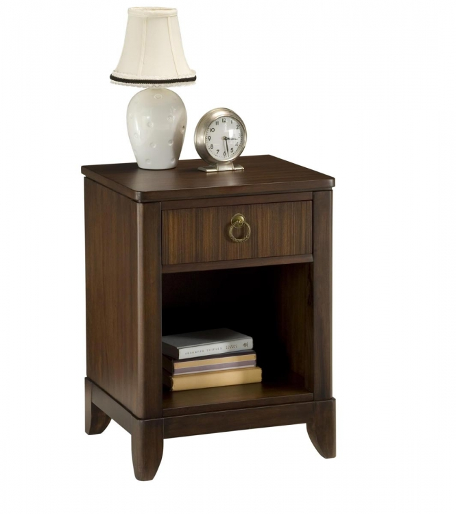 Paris Night Stand - Mahogany - Home Styles
