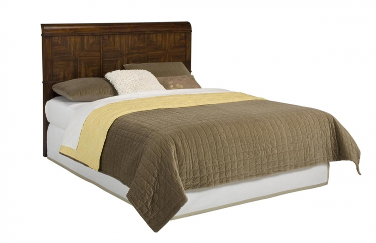 Paris Queen Headboard - Mahogany - Home Styles
