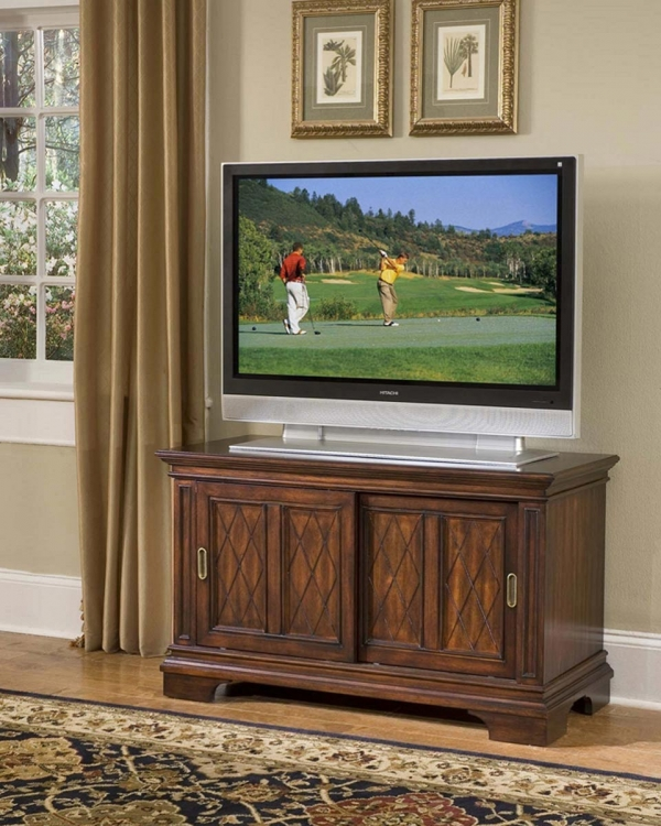 Windsor TV Stand - Windsor Cherry - Home Styles
