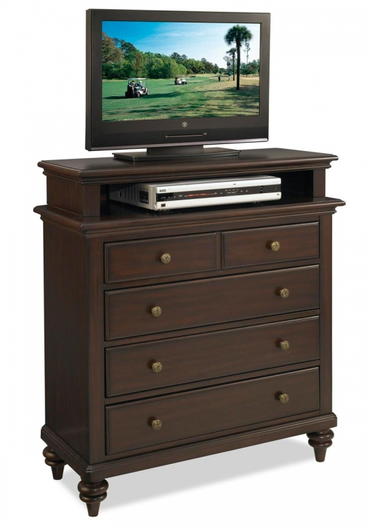 Bermuda TV Media Chest - Espresso - Home Styles