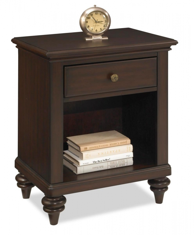 Bermuda Night Stand - Espresso