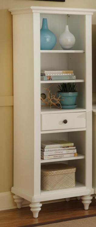 Bermuda Pier Cabinet - Brushed White - Home Styles