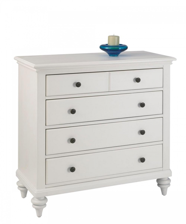 Bermuda Chest - Brushed White - Home Styles
