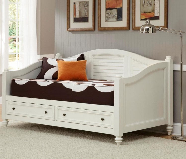 Bermuda Daybed - Brushed White