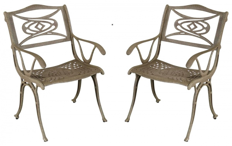 Malibu Dining Chair - Taupe