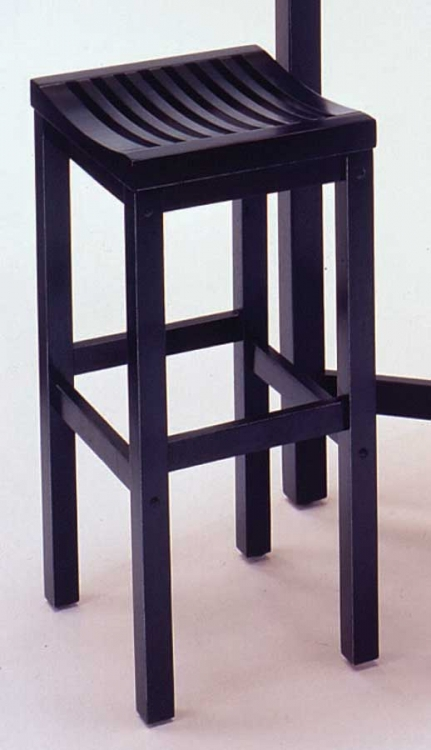 29in Bar Stool - Black - Home Styles