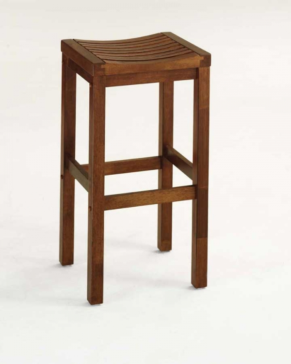 29in Bar Stool - Oak - Home Styles