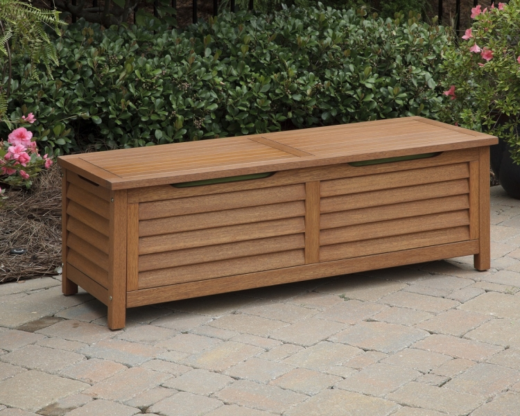 Montego Bay Deck Box - Eucalyptus - Home Styles
