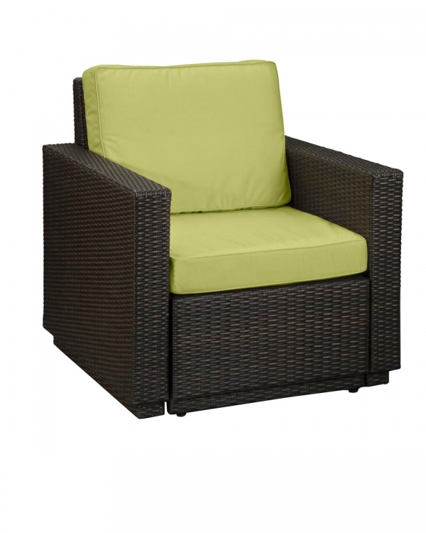 Riviera Arm Chair - Green Apple - Home Styles
