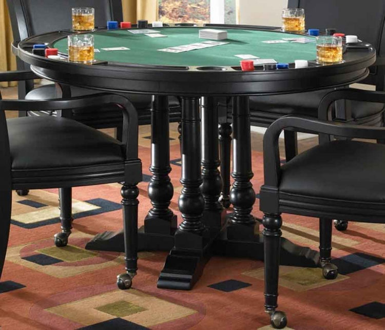 St. Croix Game Table - Black