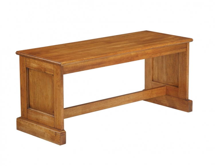Dining Bench - Cottage Oak - Home Styles