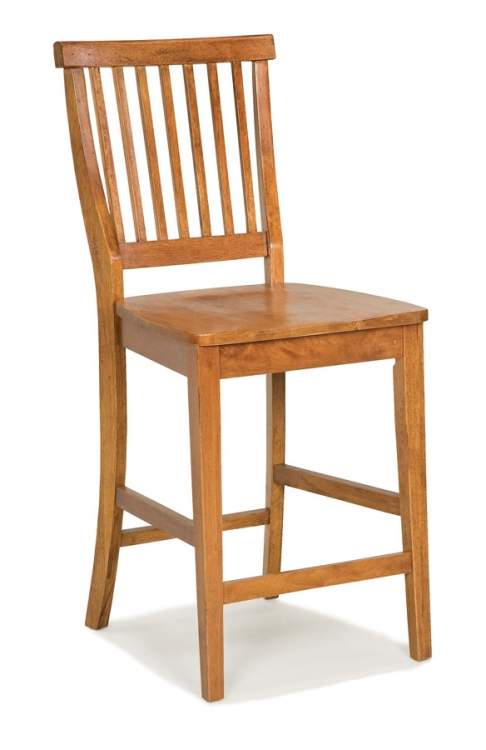 5004 Cottage Oak Counter Stool