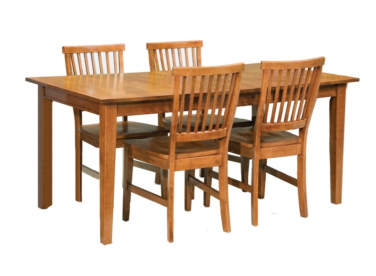 Arts and Crafts Dining Collection - Cottage Oak