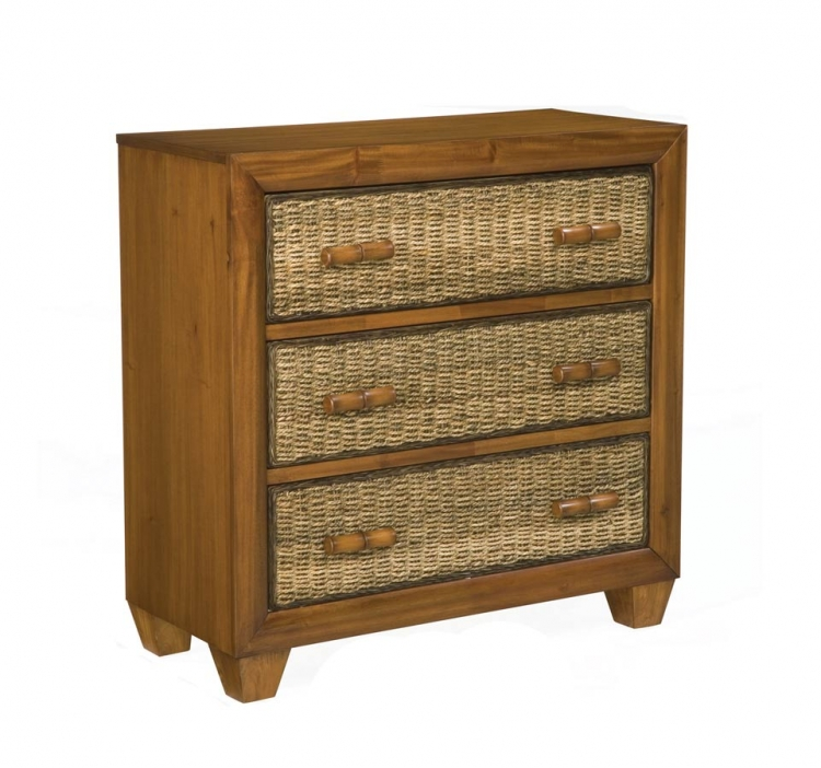 Cabana Chest - Honey Oak