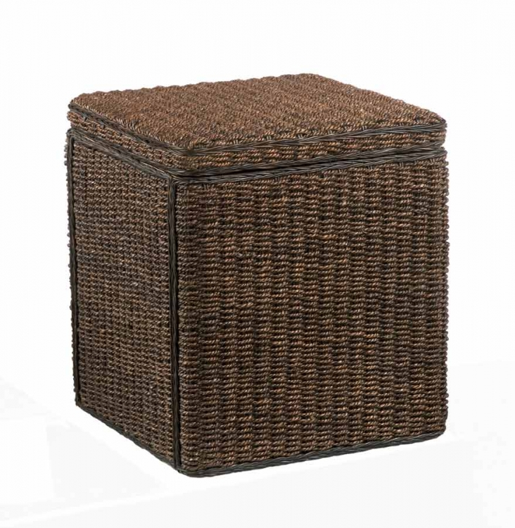 Cabana Small Storage Chest - Cocoa - Home Styles