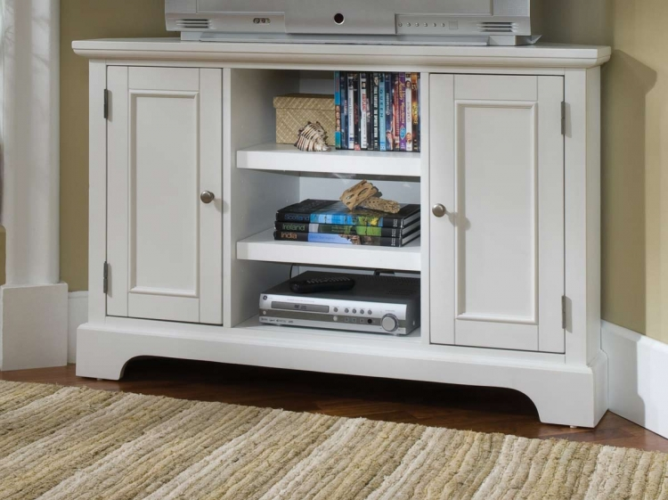 Naples Corner Entertainment Stand - Home Styles