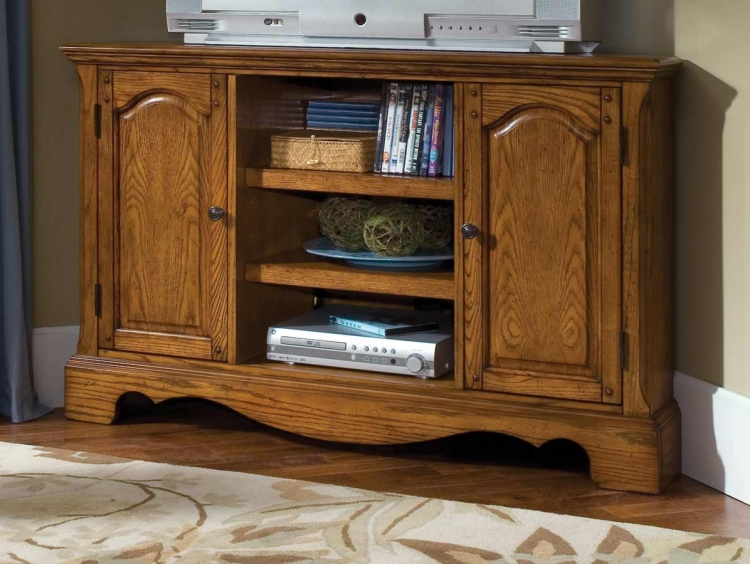 Country Casual Corner Entertainment TV Stand