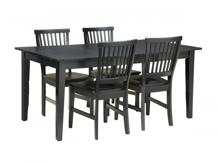 Arts and Crafts Dining Collection - Ebony
