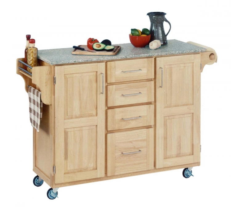 Create-A-Cart SP Granite Top - Natural - Home Styles