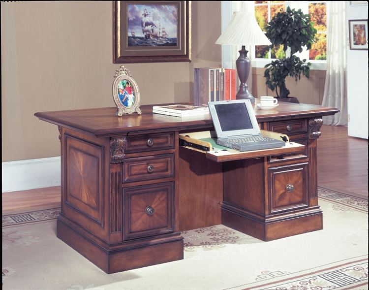 Huntington Library Executive Desk-Parker House